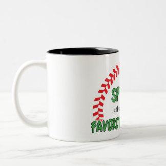 Spring Baseball Coffee Mug