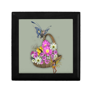 Spring basket gatherers jewelry box