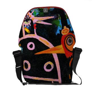 spring bazaar courier bag