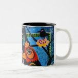 spring bazaar Two-Tone coffee mug