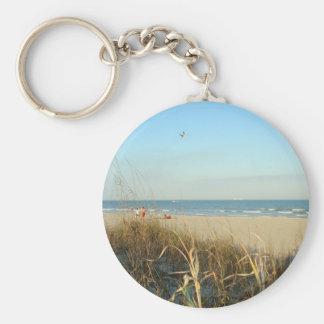 Spring Beach Scene No. 3 Keychain