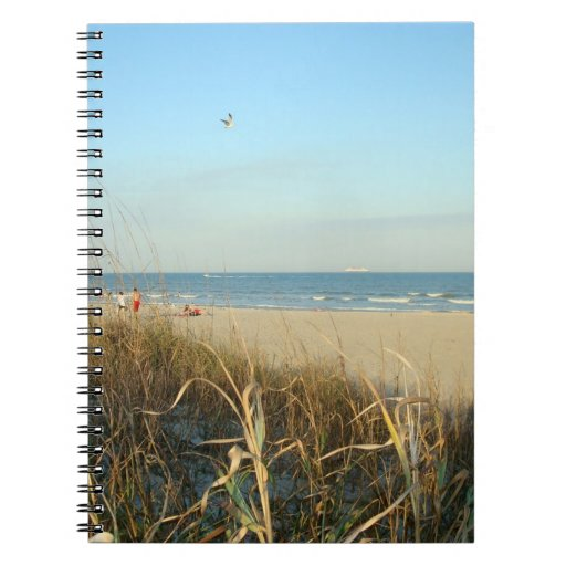 Spring Beach Scene No. 3 Notebook