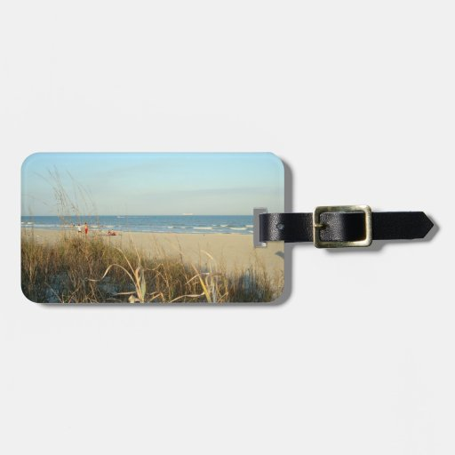 Spring Beach Scene No. 3 Personalized Luggage Tag