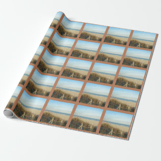 Spring Beach Scene No. 3 Wrapping Paper
