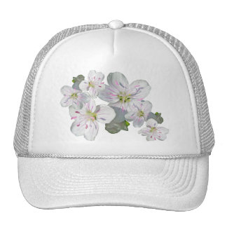 Spring Beauty Wildflower Coordinating Items Trucker Hat