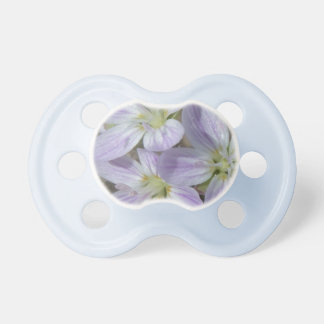 Spring Beauty Wildflower- Details of Nature Series BooginHead Pacifier