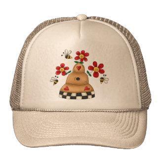 Spring Beehive Trucker Hat