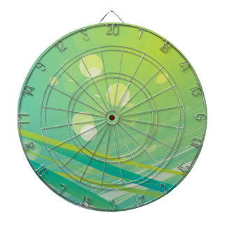 Spring bg florish dart board