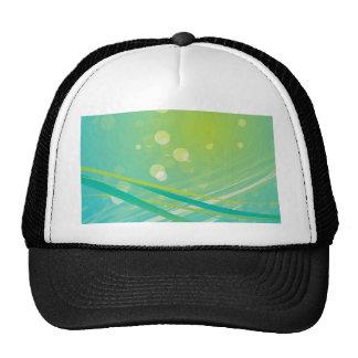 Spring bg florish trucker hat