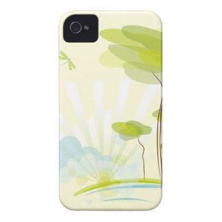 Spring BG iPhone 4 Case-Mate Cases