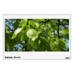 Spring Birch Leaves Green Tree Wall Decor