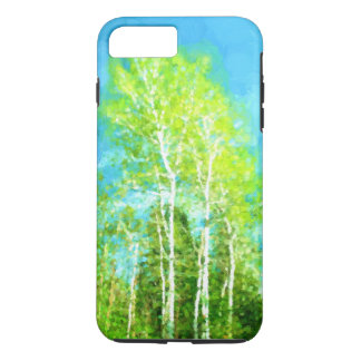 Spring Birch Trees iPhone 8 Plus/7 Plus Case