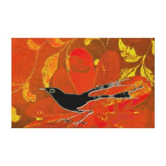Spring Bird Canvas Print