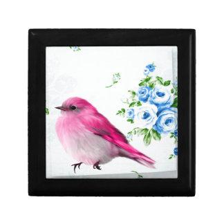 Spring birdie jewelry box