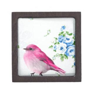 Spring birdie keepsake box