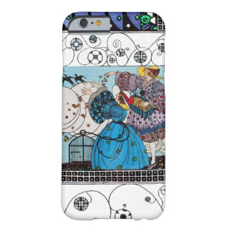 SPRING BIRDS AND SWIRLS / FASHION COSTUME DESIGNER BARELY THERE iPhone 6 CASE