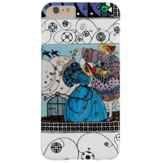 SPRING BIRDS AND SWIRLS / FASHION COSTUME DESIGNER BARELY THERE iPhone 6 PLUS CASE