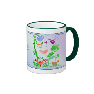 Spring Birds Mug