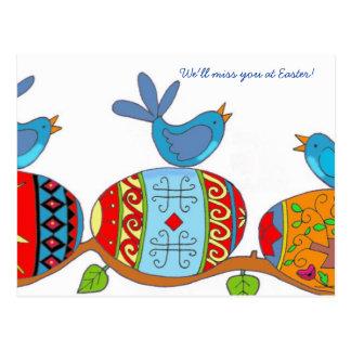 Spring Blessings Ukrainian Folk Art Post Cards