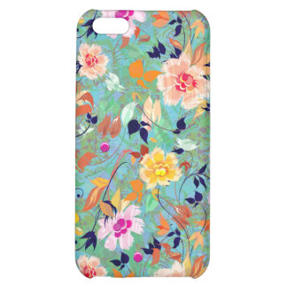 Spring Bloom-Abstract Flower Pern iPhone 5C Cover