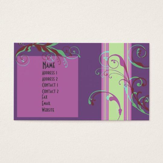 Spring Bloom Business Card