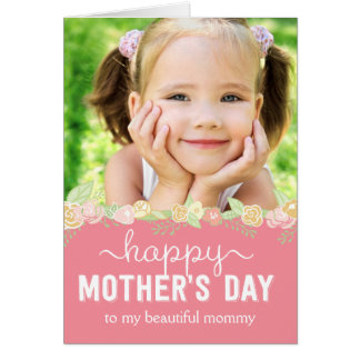 Spring Bloom Mothers Day Photo Card