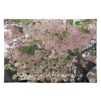 Spring Blooming American MoJo Placemat