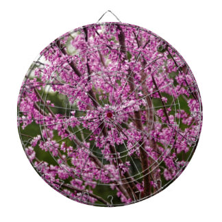 Spring Blooming Eastern Redbud Blossoms Dartboards