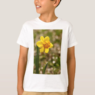 Spring Blooming Yellow Daffodil Blossom T-Shirt