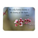 Spring Blooms Beauty Rectangular Photo Magnet