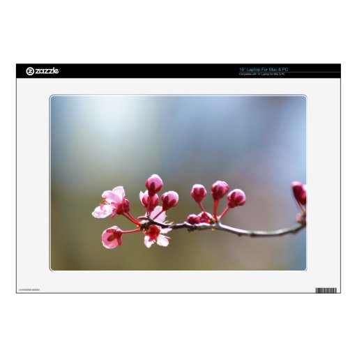 Spring Blooms Decal For Laptop