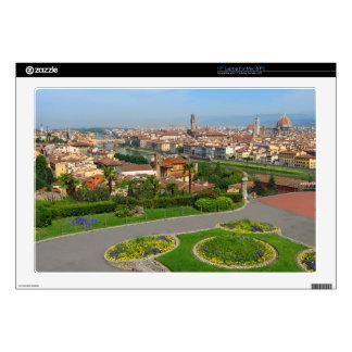 """Spring blooms in Florence 17"""" Laptop Skin"""