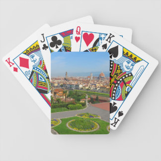 Spring blooms in Florence Bicycle Playing Cards