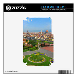 Spring blooms in Florence Skin For iPod Touch 4G