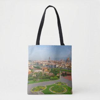 Spring blooms in Florence Tote Bag