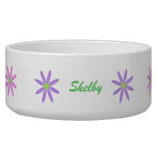 Spring Blooms: Personalized Pet Bowls