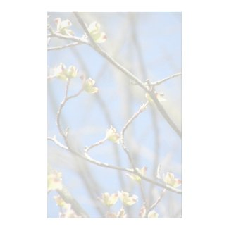 Spring Blooms Stationary Customized Stationery