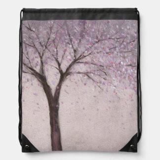 Spring Blossom II Drawstring Backpack
