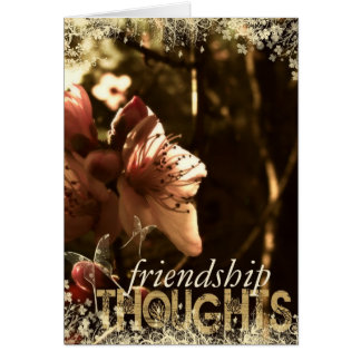 Spring Blossom Thoughts Card