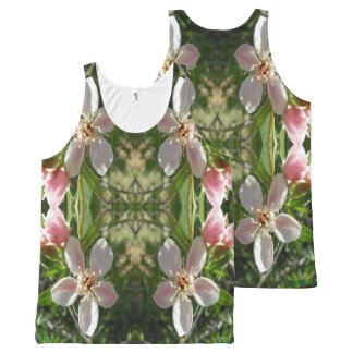 Spring Blossom XO All-Over-Print Tank Top