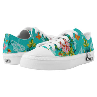 Spring Blossom Zipz Low Top Shoes, US Women 6