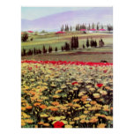 Spring Blossoms acrilic painting Posters