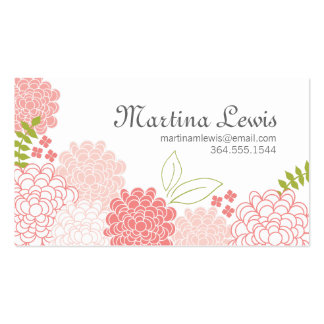 Spring Blossoms Calling Card Double-Sided Standard Business Cards (Pack Of 100)