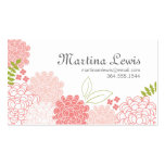 Spring Blossoms Calling Card Business Card Template