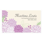 Spring Blossoms Calling Card Business Cards