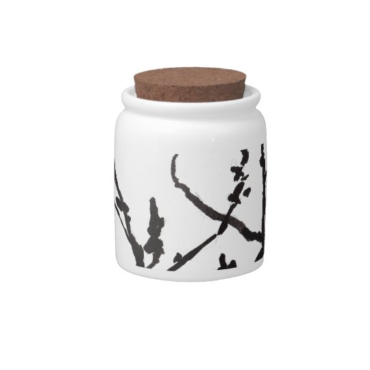 Spring Blossoms Candy Jars