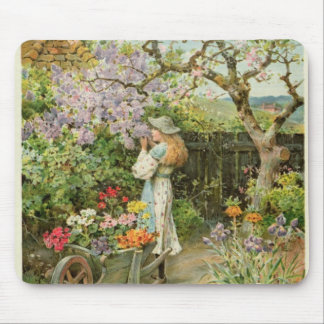 Spring Blossoms, from the Pears Annual, 1902 Mouse Pad