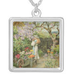Spring Blossoms, from the Pears Annual, 1902 Pendant