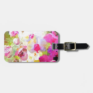 Spring Blossoms Luggage Tag