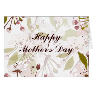 Spring Blossoms Mother's Day Beautiful Card